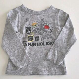ブリーズ(BREEZE)のブリーズ ロンT グレー 100 ホリディ(Tシャツ/カットソー)