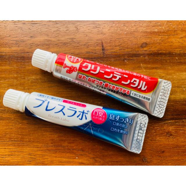 第一三共ヘルスケア(ダイイチサンキョウヘルスケア)の❇︎エアレン様専用❇︎ 歯磨き粉 サンプル2種セット コスメ/美容のオーラルケア(歯磨き粉)の商品写真
