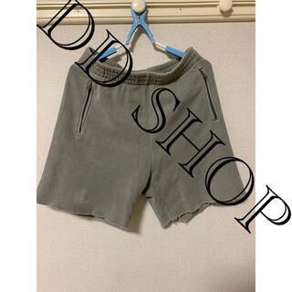 Yeezy season 6 sweat shorts Gravel