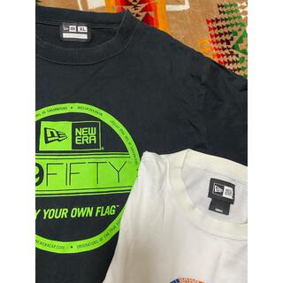 ニューエラー(NEW ERA)のNEWERA ニューエラ 黒XLサイズ 白Sサイズ Tシャツ2枚セット(Tシャツ/カットソー(半袖/袖なし))