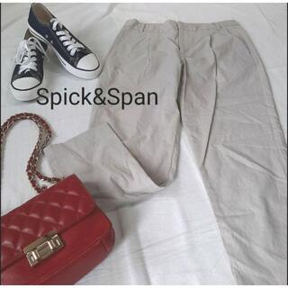 スピックアンドスパン(Spick and Span)のSpick&Span パンツ ズボン ストレート ワイド シンプル カジュアル(カジュアルパンツ)