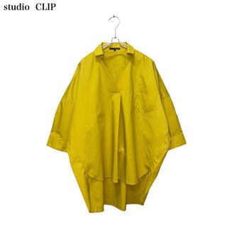 スタディオクリップ(STUDIO CLIP)の【studio  CLIP】オーバーシャツ ブラウス スタディオクリップ(シャツ/ブラウス(長袖/七分))