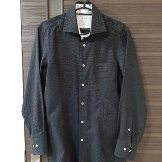 レノマ(RENOMA)のレノマ ブラック 長袖襟付シャツ  ワイシャツ(シャツ)