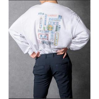 ハレ(HARE)のロゴアソートロンT ホワイト(Tシャツ/カットソー(七分/長袖))