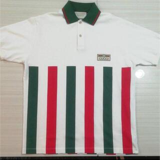 Gucci - GUCCI メンズ 白 ポロシャツ S