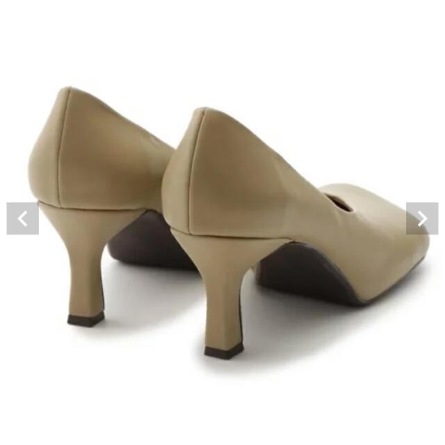 Mila Owen(ミラオーウェン)のミラウォーエン インストームラウンドパンプス 美品 レディースの靴/シューズ(ハイヒール/パンプス)の商品写真