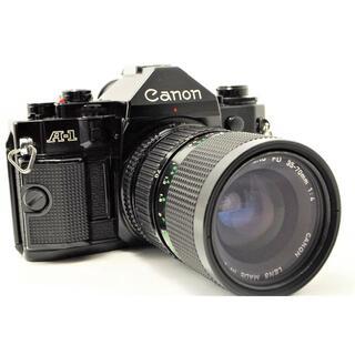 キヤノン(Canon)の★新品級★ CANON キヤノン A-1 フィルムカメラ ボディ+ レンズ FD(フィルムカメラ)