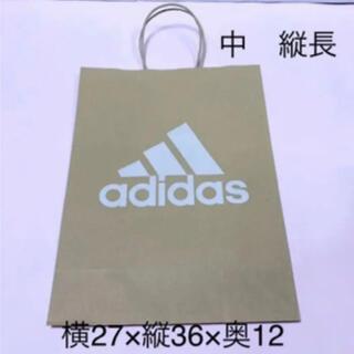 アディダス(adidas)の縦長 ショップ袋 紙袋 アディダス ショッパー  新品 未使用 ♡ ギフト(ショップ袋)