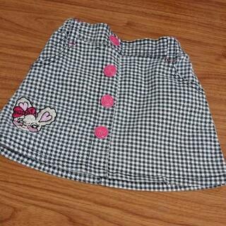 ロニィ(RONI)の女の子 スカート 100 キッズ Roni ロニィ BIRTHDAY バースデイ(スカート)