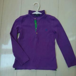ポロラルフローレン(POLO RALPH LAUREN)のラルフローレン 長袖 ポロシャツ 女の子 サイズ6 120センチ(Tシャツ/カットソー)