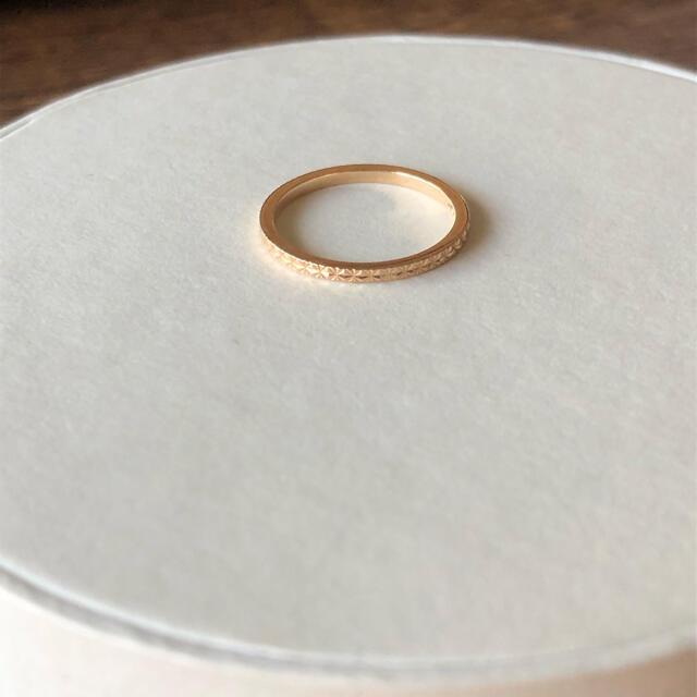 COCOSHNIK(ココシュニック)の美品☆ココシュニック K10 ピンキーリング mmoo レディースのアクセサリー(リング(指輪))の商品写真
