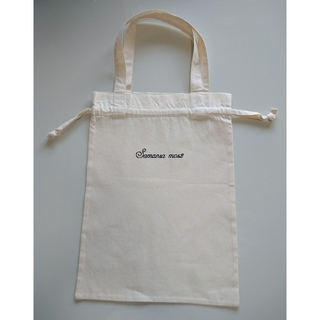 サマンサモスモス(SM2)の新品 SM2 ノベルティ 巾着バッグ(トートバッグ)