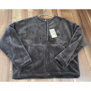 ムジルシリョウヒン(MUJI (無印良品))の無印良品 着る毛布 ノーカラージャケット XS/S(ノーカラージャケット)