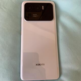 ANDROID - Xiaomi Mi 11 Ultra 5G 256GB ホワイト12GB RAM