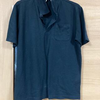 しまむら - 黒 半袖ポロシャツ
