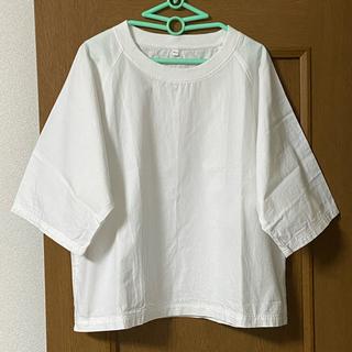 ムジルシリョウヒン(MUJI (無印良品))の無印良品 インド綿洗いざらしTシャツ(Tシャツ(半袖/袖なし))