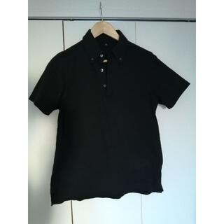ムジルシリョウヒン(MUJI (無印良品))の無印良品 ポロシャツ XS 黒(ポロシャツ)