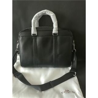 COACH - コーチ COACH ビジネスバッグ  F71681黒 ブリーフ  超美品
