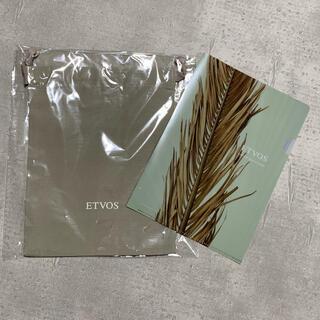 エトヴォス(ETVOS)のETVOS 非売品ポーチ・クリアファイル(ポーチ)