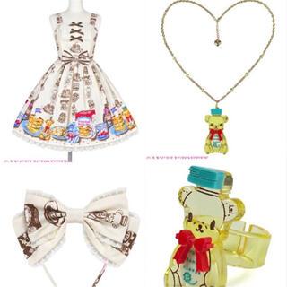 Angelic Pretty - Honey Cake 切替ジャンパースカート set