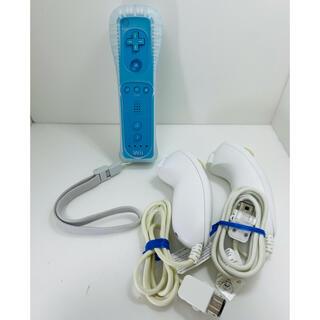ウィー(Wii)のwiiリモコン&ヌンチャクセット(その他)