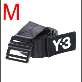 Y-3 クラシック ロゴ ベルト 黒 Mサイズ 125cm