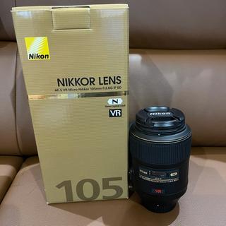 Nikon - 【極美品】AF-S VR Micro-Nikkor 105mm f/2.8G