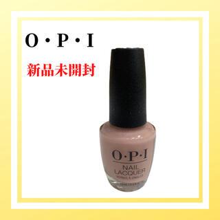 オーピーアイ(OPI)の新品未使用 OPI ネイルラッカー NL SH4 15ml ベア マイ ソウル(マニキュア)