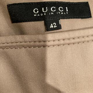 グッチ(Gucci)のグッチウールタイトスカート(ひざ丈スカート)