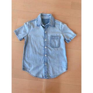 ギャップキッズ(GAP Kids)のGAPKIDS デニムシャツ(Tシャツ/カットソー)
