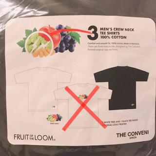 フラグメント(FRAGMENT)の【THE CONVENI × FRUIT OF THE LOOM】3P TEE(Tシャツ/カットソー(半袖/袖なし))