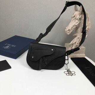 Christian Dior - Dior Homme saddle サドルバッグ メッセンジャー 黒