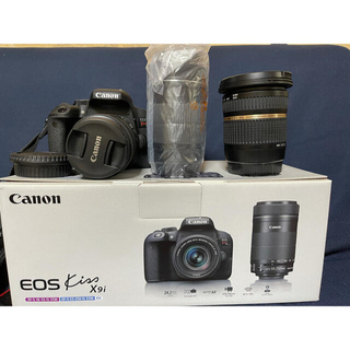 Canon - canon eos kiss x9i wズームキット 超広角レンズセット