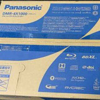 Panasonic - パナソニックブルーレイ DMR-4x1000