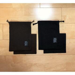給食セット 無地 ブラック ダークブラウン コップ袋 ランチョンマット シンプル(外出用品)