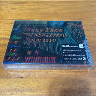 Sexy Zone - Sexy Zone POP×STEP!? TOUR 2020(初回限定盤) Bl