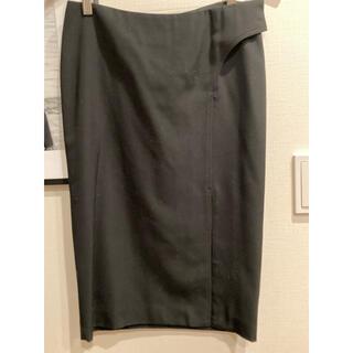 グッチ(Gucci)のグッチタイトスカート ウールストレッチ(ひざ丈スカート)