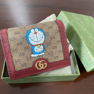 Gucci - GUCCI ドラえもん コラボ 財布 ミニウォレット