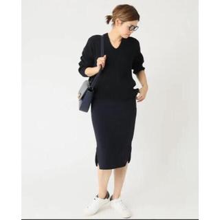 ドゥーズィエムクラス(DEUXIEME CLASSE)の新品 ドゥーズィエムクラス  トリアセジョーゼット ペンシルスカート (ひざ丈スカート)