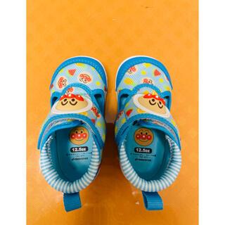 MOONSTAR  - ムーンスター  アンパンマン サマーシューズ  靴  ブルー