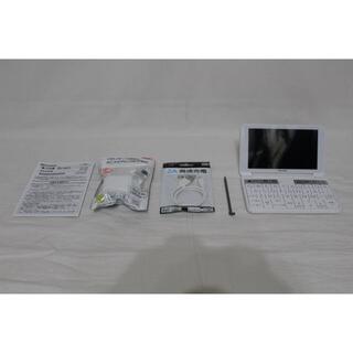 SHARP - ★ほぼ新品 シャープ カラー電子辞書 Brain 高校生モデル PW-SH6-W