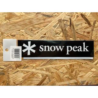スノーピーク(Snow Peak)のスノーピーク ロゴ ステッカー アスタリスク S NV-006 正規品(その他)