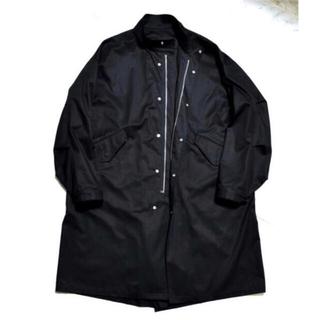 コモリ(COMOLI)の【安すぎる!】shinyaofficialcom motoko-65 black(モッズコート)