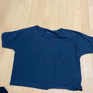 コーエン(coen)のコーエン インディゴ系シンプルTシャツ(Tシャツ(半袖/袖なし))