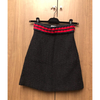 グッチ(Gucci)のGUCCI(グッチ) ツイードスカート(ミニスカート)