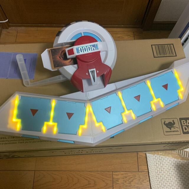 BANDAI(バンダイ)の【イニ様専用】プロップリカ デュエルディスク エンタメ/ホビーのおもちゃ/ぬいぐるみ(キャラクターグッズ)の商品写真