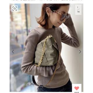 L'Appartement DEUXIEME CLASSE - GOOD GRIEF/グッドグリーフ Canvas Cluch Bag(L)