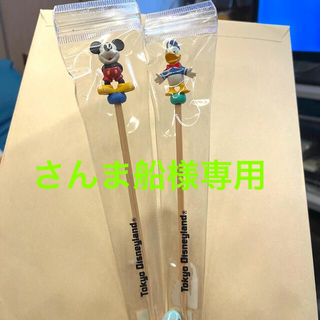 Disney - 東京ディズニーランド 耳かき ミッキー、ドナルドダック