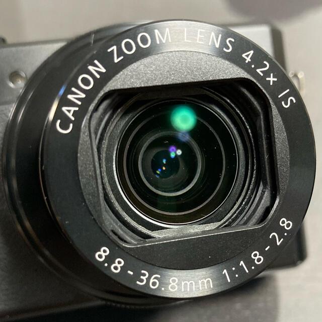 Canon(キヤノン)のPowerShot G7 X Mark II スマホ/家電/カメラのカメラ(コンパクトデジタルカメラ)の商品写真