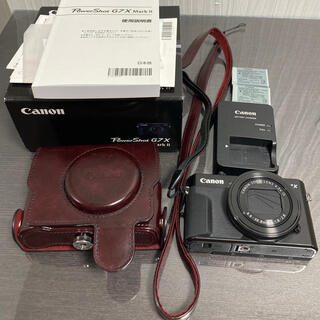 Canon - PowerShot G7 X Mark II